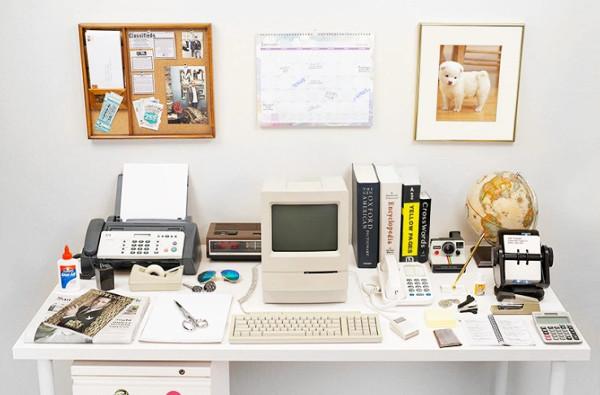 1 bức hình lột tả sự thay đổi của bàn làm việc 20 năm qua