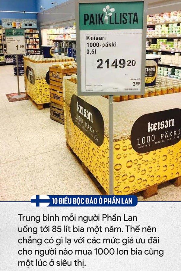 10 điều độc đáo chỉ có ở Phần Lan