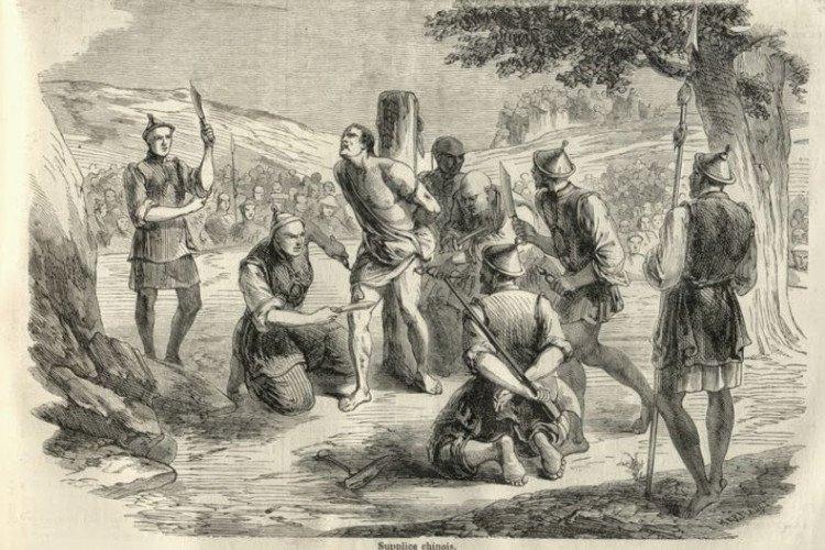 10 hình phạt tử hình tàn khốc nhất lịch sử nhân loại