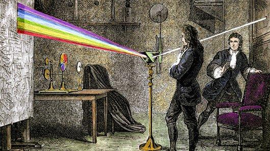 10 phát minh nổi tiếng của Isaac Newton