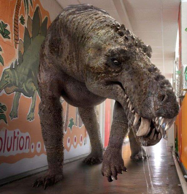10 quái vật ăn thịt kinh hoàng nhất thời tiền sử