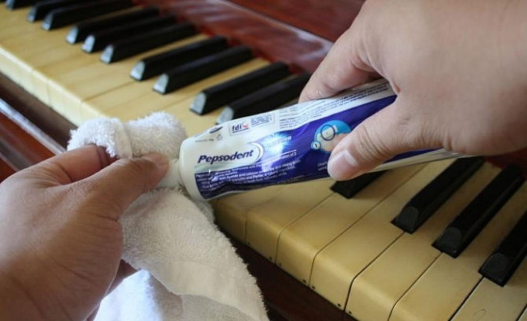 11 công dụng tuyệt vời của kem đánh răng