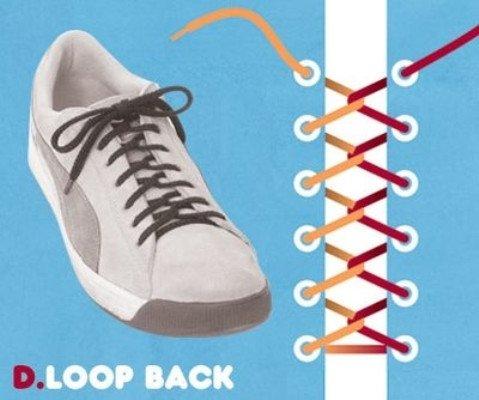15 kiểu buộc dây giày bắt mắt