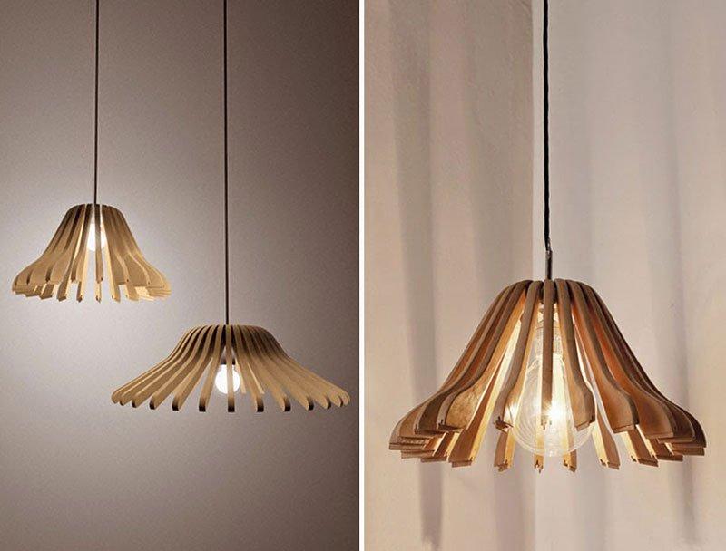 20 ý tưởng làm đèn chùm vô cùng hữu ích từ những vật dụng bỏ đi