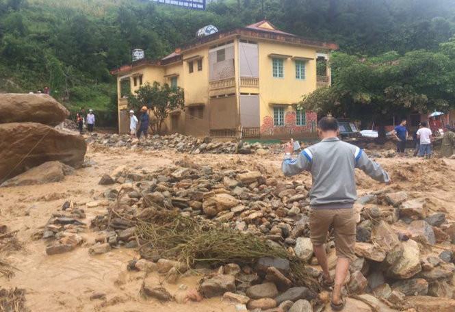 25 người chết, mất tích do mưa lũ tại các tỉnh phía Bắc