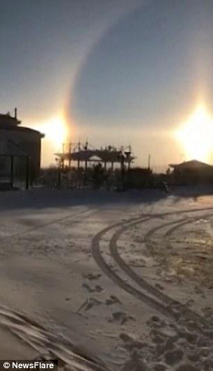 3 mặt trời xuất hiện cùng lúc - Điềm báo bí ẩn hay hiện tượng khoa học?
