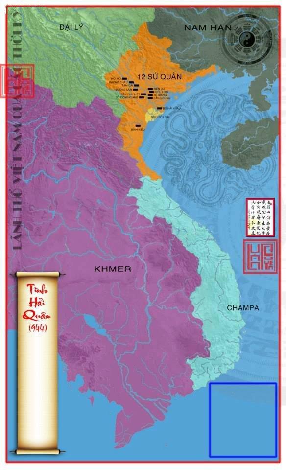 45 tấm bản đồ Việt Nam qua các giai đoạn từ thế kỷ 10 (phần 1)