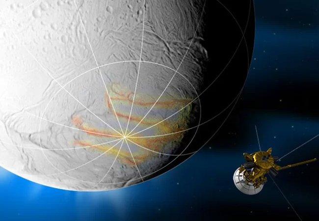 50 hình ảnh về mặt trăng Enceladus của Sao Thổ - nơi sự sống có thể tồn tại (Phần 2)