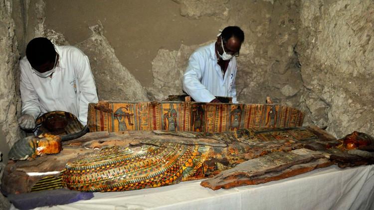 Ai Cập phát hiện ngôi mộ cổ hơn 3.500 năm chứa nhiều đồ cổ