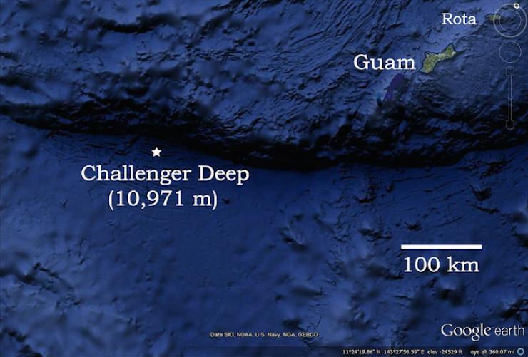 Âm thanh bí ẩn từ vực sâu 11.000m dưới Thái Bình Dương