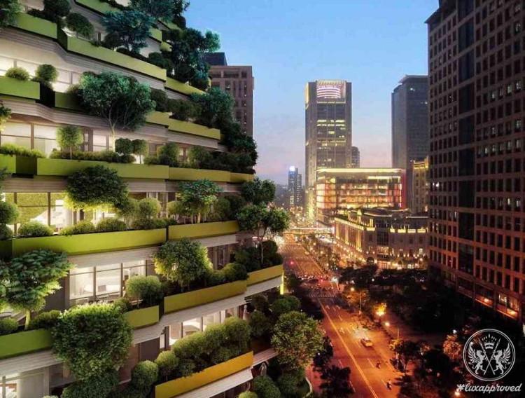 Ấn tượng tòa nhà ăn khí CO2