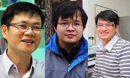 Ba nhà khoa học giành giải Tạ Quang Bửu được vinh danh