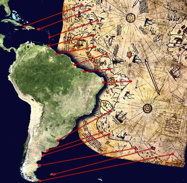 Bản đồ Piri Reis: bằng chứng của một nền văn minh tiên tiến chưa từng có trên Trái đất?