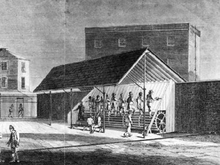Bạn tin không, máy chạy bộ là cỗ máy tra tấn tù nhân khét tiếng vào thế kỷ 19