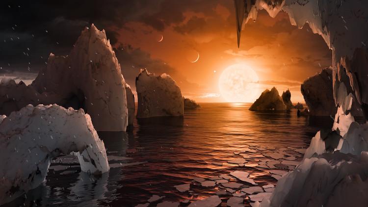 Bất ngờ với cuộc sống khác lạ trên hệ Mặt trời mới phát hiện