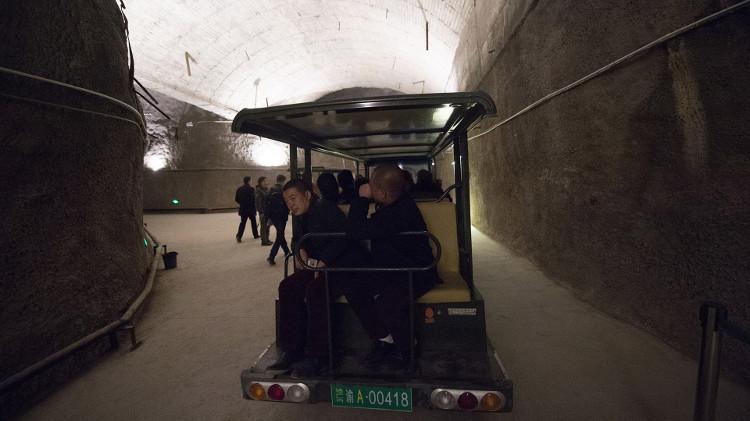 Bên trong hầm hạt nhân khổng lồ của Trung Quốc từ thời chiến tranh Lạnh
