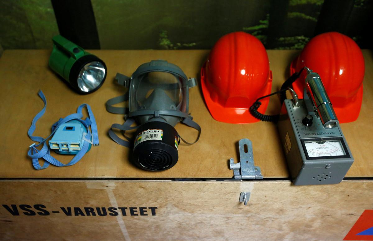 Bên trong hầm trú ẩn bom hạt nhân ở Nhật Bản