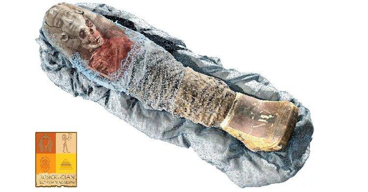 Bên trong xác ướp bé gái 2.000 năm tuổi