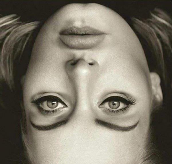 Bí ẩn trong bức ảnh lộn ngược bìa album 25 của Adele đang lan truyền trên mạng