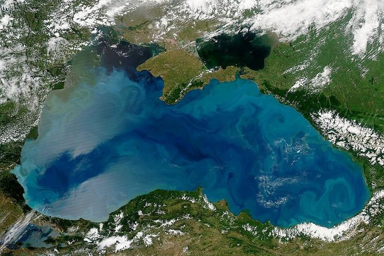 Biển Đen đã thay đổi màu sắc – NASA cảnh báo nguy cơ gây hại cho động thực vật