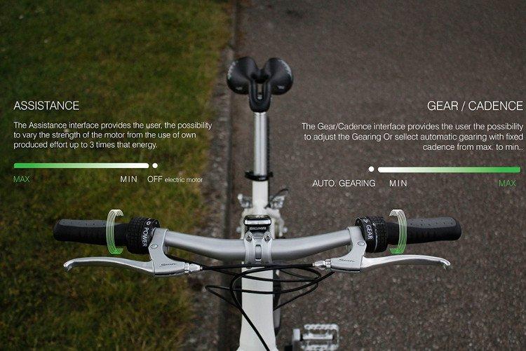 Bike2: Xe đạp không xích, sạc pin bằng cách đạp như bình thường