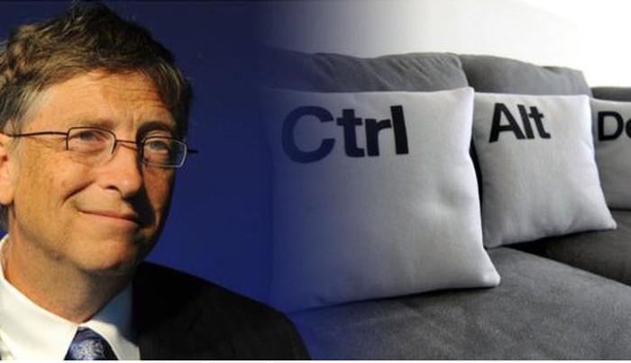 Bill Gates: Tổ hợp Ctrl + Alt + Del trên Windows là một sai lầm
