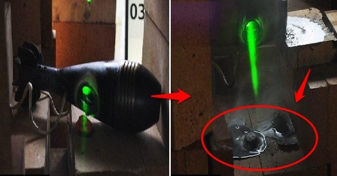 Bộ Quốc phòng Anh trình làng vũ khí laser kiểu Star Wars có thể cắt xuyên máy bay địch