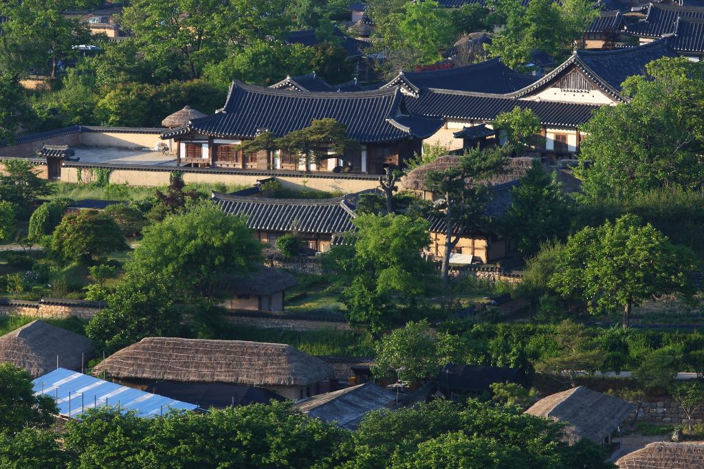 Các làng lịch sử của Hàn Quốc: Hahoe và Yangdong