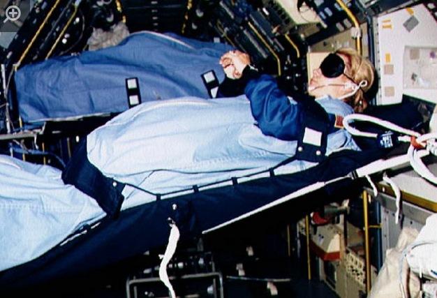 Các phi hành gia ngủ ngoài vũ trụ như thế nào?