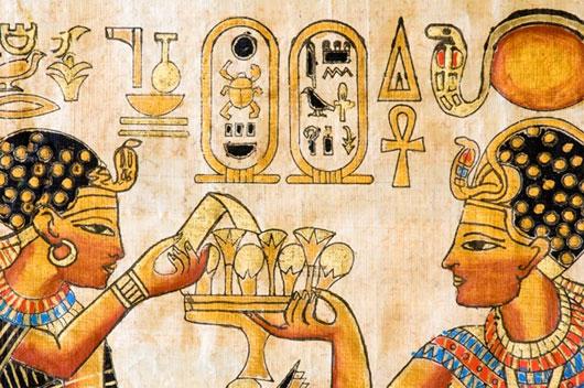 Cách thử thai, điều chế tình dược huyền bí thời Ai Cập cổ đại