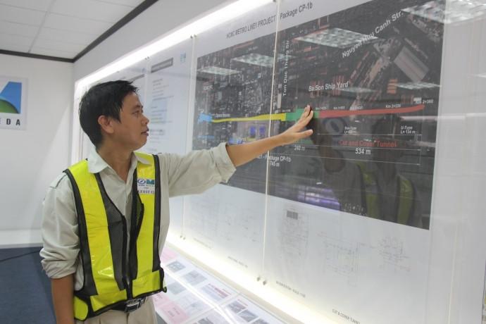 Cận cảnh Robot TBM khủng khoan hầm tuyến Metro TP.HCM