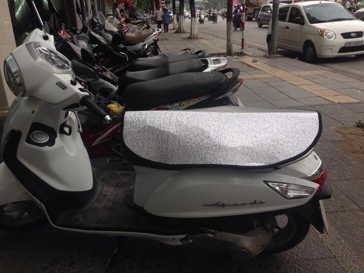 Cần phải nhớ ngày nắng: Nhất định không được ngồi lên yên xe bị nóng