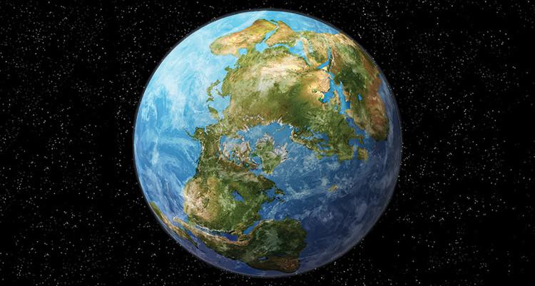 Châu Mỹ và châu Á sẽ hợp thành siêu lục địa trong tương lai