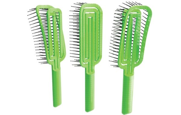 Chiếc lược mê cung giúp loại bỏ tóc rối dễ dàng