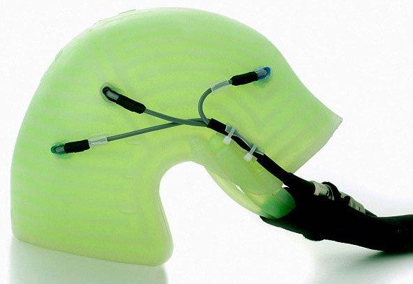 Chiếc mũ thần kì chống rụng tóc khi hóa trị ung thư