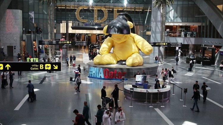 Chiêm ngưỡng sân bay sang trọng nhất nhì thế giới tại Qatar