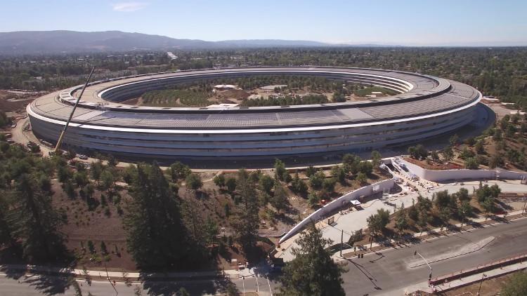 Chiêm ngưỡng trụ sở mới hình phi thuyền siêu đẹp của Apple