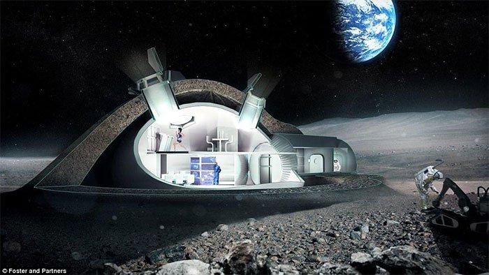 Choáng ngợp trước hình ảnh cuộc sống trên sao Hỏa có thể xuất hiện trong tương lai