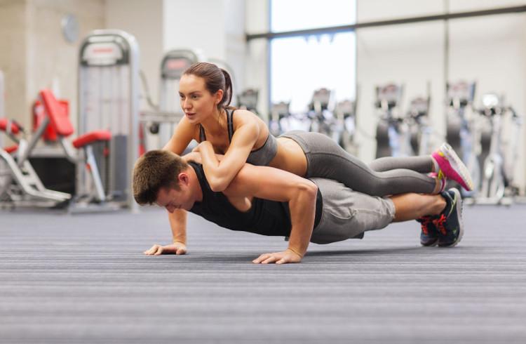 Chồng càng chăm tập thể dục, vợ càng yêu đời và hạnh phúc