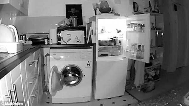 Chủ nhà lắp camera phát hiện tủ lạnh và máy giặt tự mở cửa mỗi đêm