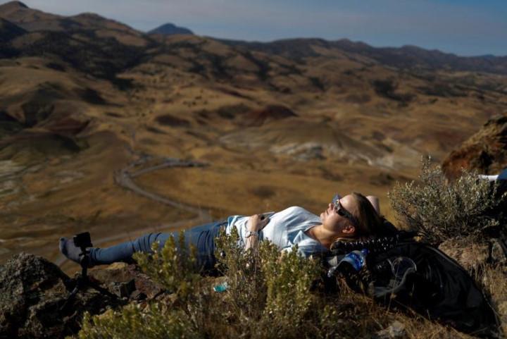 Chùm ảnh nhật thực toàn phần cực đẹp trên khắp nước Mỹ