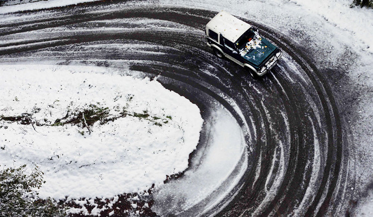 Chùm ảnh tuyết trắng bao trùm khắp Châu Âu