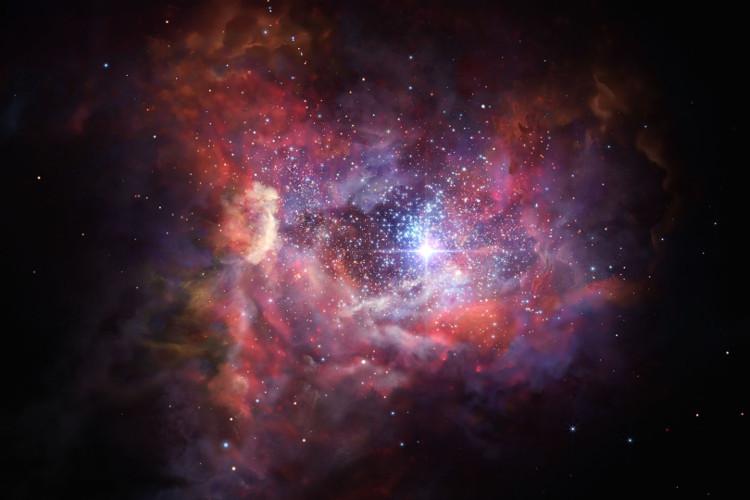 Chụp được ảnh những tia sáng lấp lánh đầu tiên trong vũ trụ