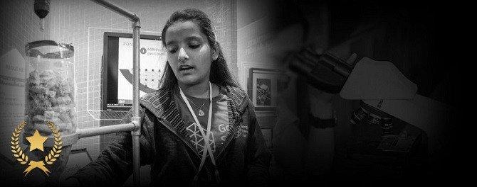 Cô bé 15 tuổi có sáng kiến làm sạch nước bằng lõi ngô