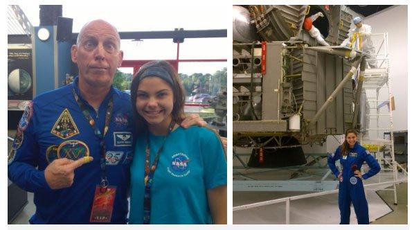 Cô gái 17 tuổi được NASA đào tạo để trở thành người đầu tiên đặt chân lên sao Hỏa
