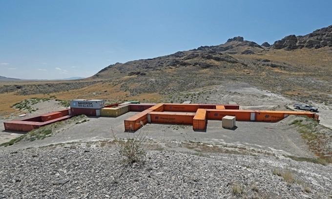 Cơ sở kiểm tra vũ khí hóa sinh tuyệt mật của Mỹ