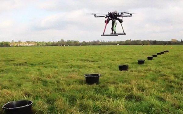 Công nghệ dùng Drone trồng cây, có thể trồng được 100.000 cây chỉ trong 1 ngày