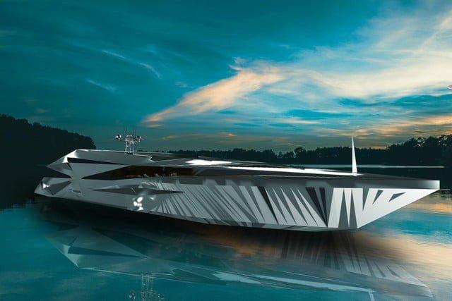 Cùng ngắm siêu du thuyền khổng lồ như bước ra từ những bộ phim khoa học viễn tưởng