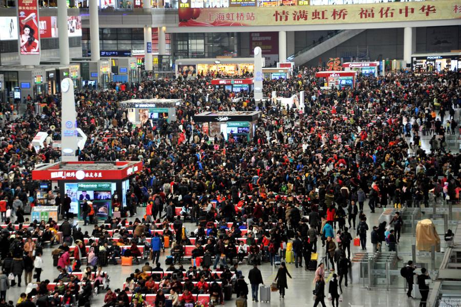 Cuộc di dân khổng lồ về quê ăn Tết ở Trung Quốc