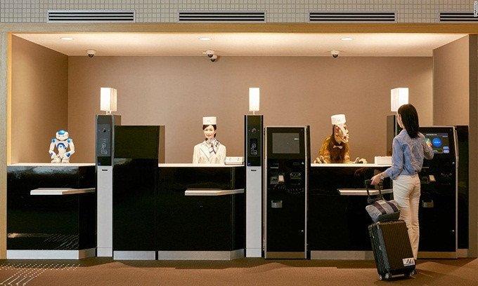 Cuộc sống tràn ngập công nghệ tương lai ở Nhật Bản